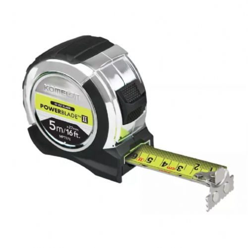 Komelon PowerBlade™ II Pocket Tape Measure 5m/16ft (Width 27mm)
